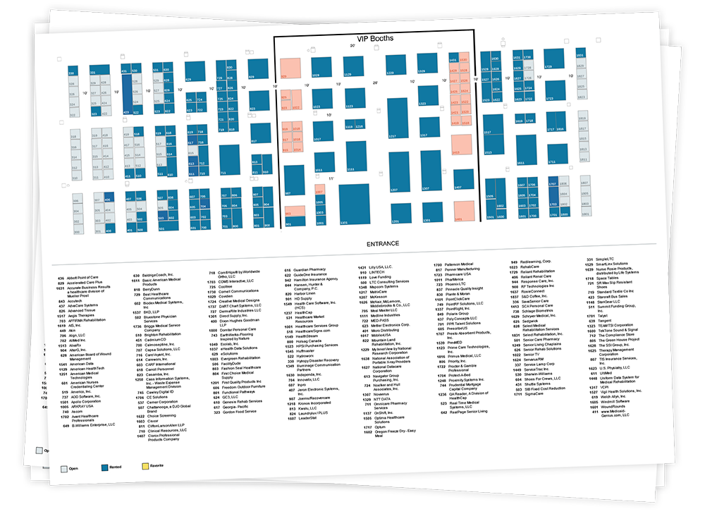 Expo floor plan cadmiumcd for Professional floor plan software